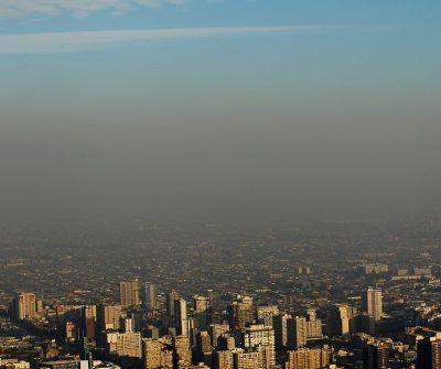 Preemergencia Ambiental, Santiago, Intendencia, smog, Región Metropolitana