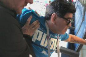 Diego Maradona, audio, drogas, alcohol, patético