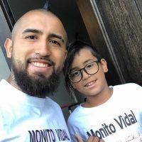 Alonsito Vidal, Arturo Vidal, Monito Vidal, Barcelona, Inter de Milan, Bayern Múnich, youtuber
