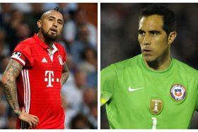 Arturo Vidal, Claudio Bravo, Bayern Múnich, Manchester City, Internacional Cup, Estados Unidos