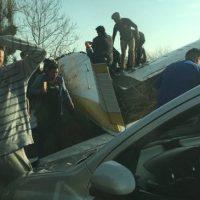 ¡No pasó a mayores! Avioneta se precipita en la comuna de Peñalolen y deja cuatro heridos