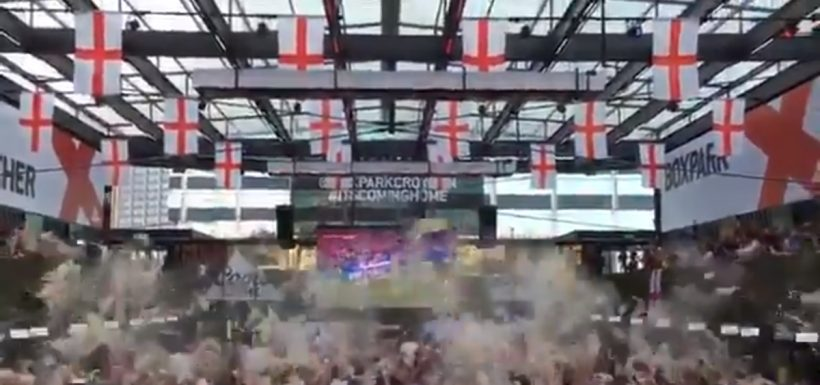 Rusia 2018, video, golazo, Trippier, cerveza, ingleses, Inglaterra, Croacia, tiro libre