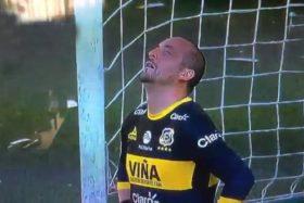 Eduardo Lobos, Franco Torgnascioli, lesionado, Everton, corte de ligamentos