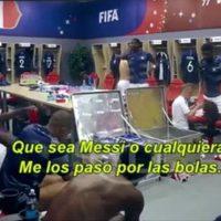 Paul Pogba, Lionel Messi, Francia, Argentina, Rusia 2018, arenga, insultos, octavos de final