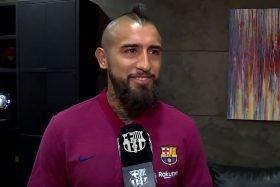Arturo Vidal, Barcelona, ganarlo todo, primeras declaraciones, video
