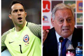 Claudio Bravo, Arturo Salah, Selección Chilena, dramas, tajante, Reinaldo Rueda