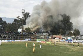 Roberto Bravo, Melipilla, incendio, Santiago Morning, Primera B