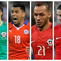 Selección Chilena, desechados, Claudio Bravo, Felipe Gutiérrez, Marcelo Díaz, Reinaldo Rueda, Gonzalo Jara