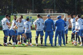 [FOTO] ¿Será cábala? Palmeiras entrenó en el CDA y no reconoció el Estadio Monumental