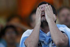 Argentina, Francia, octavos de final, Julio Bascuñán, alharaca, hinchas