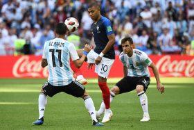 [VIDEOS] El carrerón de Mbappé y el misil de Di Maria para el transitorio 1-1 entre Francia y Argentina