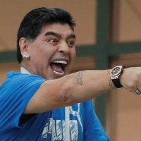 Diego Maradona, show patético, drogado, Rusia 2018, recompensa