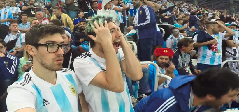 Argentina, Los Displicentes, Croacia, Rusia 2018, Jorge Sampaoli, Chile, video