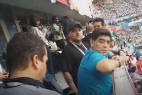 Diego Maradona, drogado, Argentina, Rusia 2018