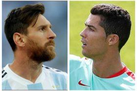 Lionel Messi, Cristiano Ronaldo, Argentina, Portugal, Rusia 2018