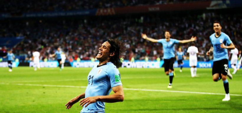 """¡Uruguay no más! Dos clavadas del """"Matador"""" Cavani eliminaron al Portugal de Cristiano Ronaldo"""