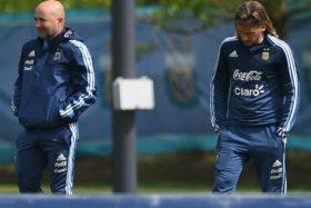 Jorge Sampaoli, Sebastián Beccacece, Argentina, renunció