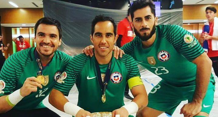 Johnny Herrera, Claudio Bravo, Selección Chilena, La Roja, regreso