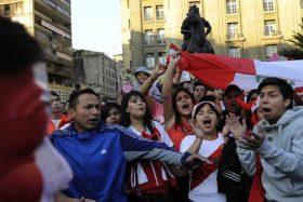 Selección de Perú, insultos, hinchas, amistoso, Selección Chilena