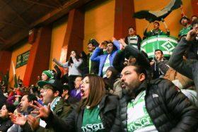 [VIDEO] ¡EUFÓRICOS! Así celebraron los hinchas de Deportes Temuco el triunfo sobre San Lorenzo