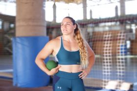 Natalia Duco, doping positivo, lanzadora de balas, atletismo, hormona de crecimiento, Cochabamba 2018