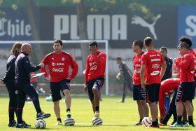 U de Conce, Marcelo Larrondo, River Plate, argentino/chileno, Jorge Sampaoli, La Roja