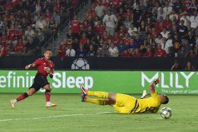Alexis Sánchez, golazo, Manchester United, video, Milan, International Championship Cup,
