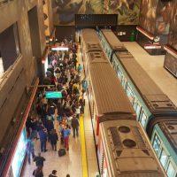 Primer tramo de la Línea 3 del Metro de Santiago podría estar operativa a finales de año.