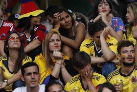 Hinchas colombianos, Colombia, burlas, Selección Chilena, La Roja, Rusia 2018, penales, Inglaterra