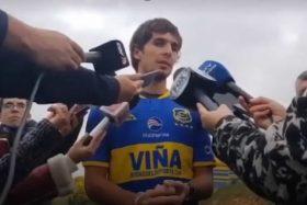 Everton, pelea, garabatos, periodistas, Cristopher Toselli, Lucas Domínguez