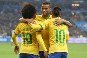 Brasil, Danilo, Tite, Neymar, Fagner, Bélgica, cuartos de final, Rusia 2018