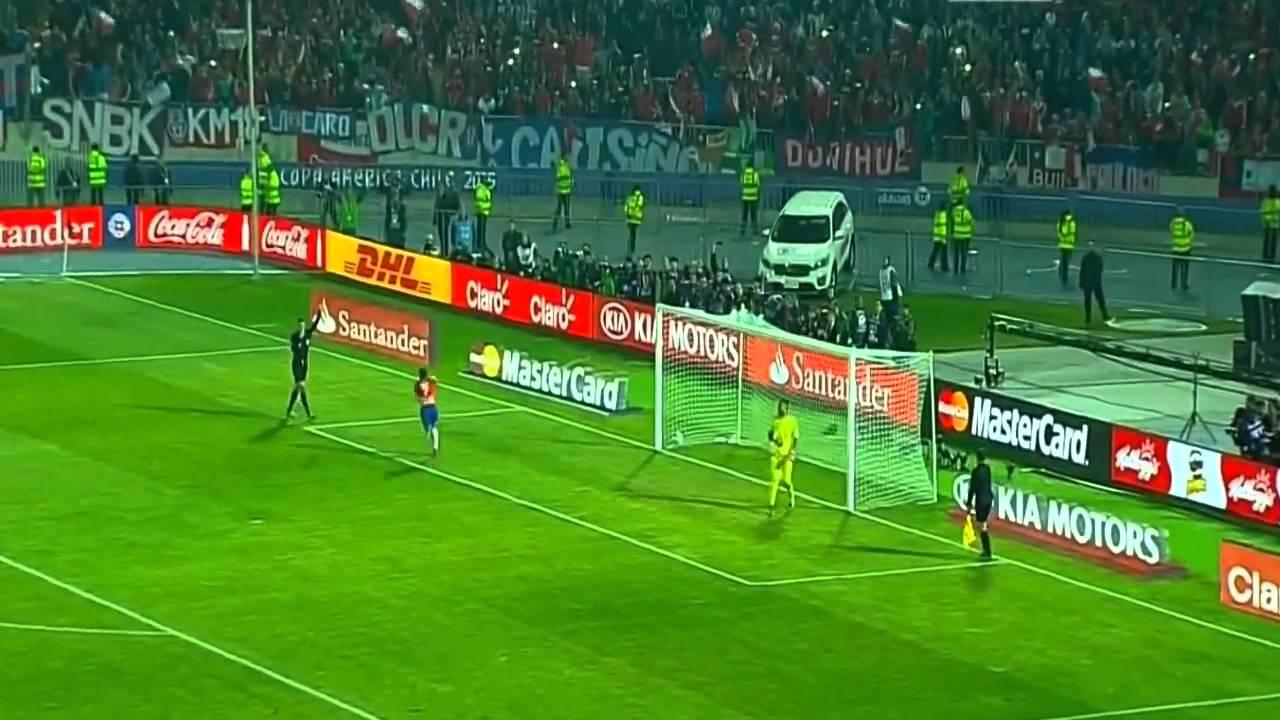 Copa América 2015, campeón de América, 4 de julio, Alexis Sánchez, penal, golazo, Argentina