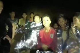 niños, Tailandia, cueva, atrapados, rescatados