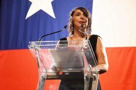 Karla Rubilar, Intendencia Metropolitana, hincha, Universidad de Chile, Colo Colo, Estadio Monumental