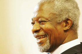 Kofi Annan, falleció, Premio Nobel de La Paz, Secretario General de la ONU