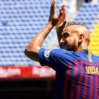Arturo Vidal, Barcelona, número 22, dorsal, camiseta