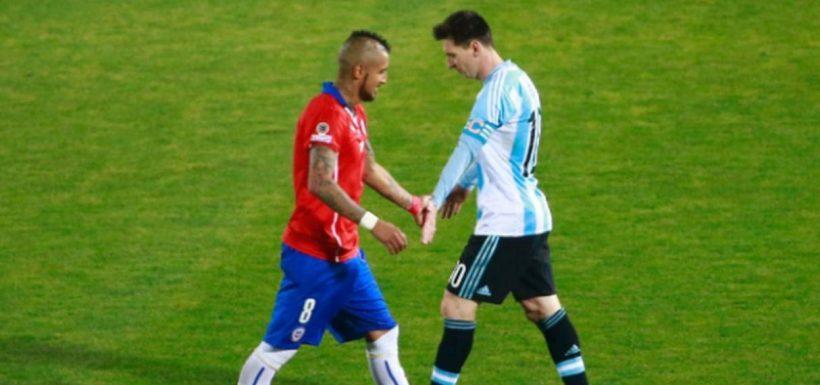 Arturo Vidal, Barcelona, Lionel Messi