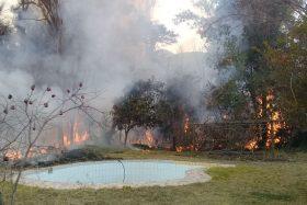 Alerta Roja, Onemi, Incendio Forestal, Pirque, San Juan de Pirque, precordillerano