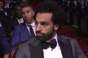 Sergio Ramos, Mohamed Salah, hombro, UEFA, video, reacción