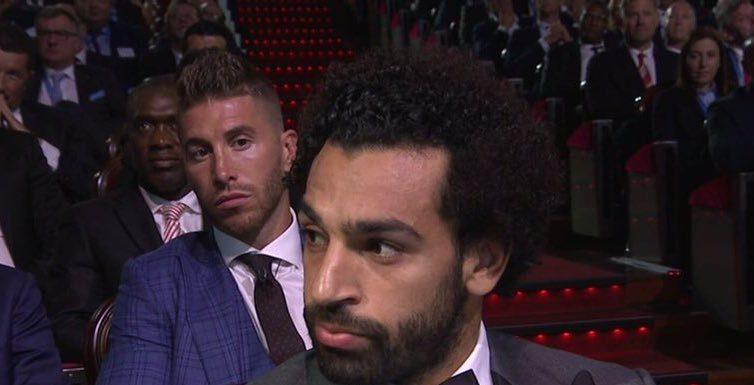 Sergio Ramos, Mohamed Salah, hombro, UEFA, video, reacción