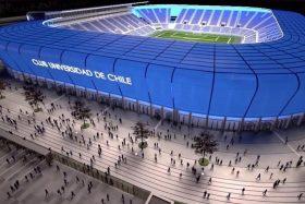 Federico Valdés, Estadio de la U, Azul Azul