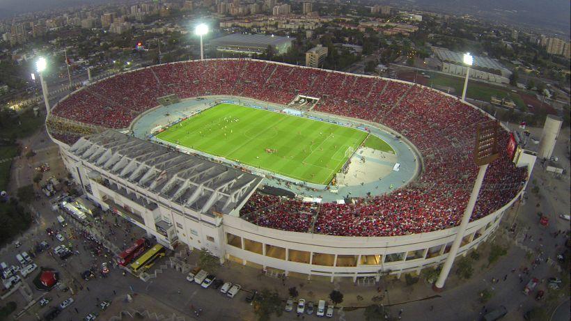 Resultado de imagen para estadio santiago de chile nacional