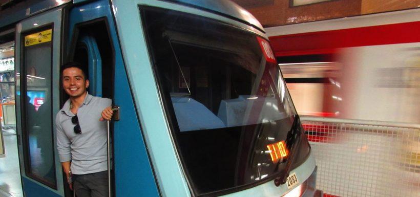 Sebastián Piñera, Metro de Santiago, ninguneo, respuesta, conductor optimista del Metro