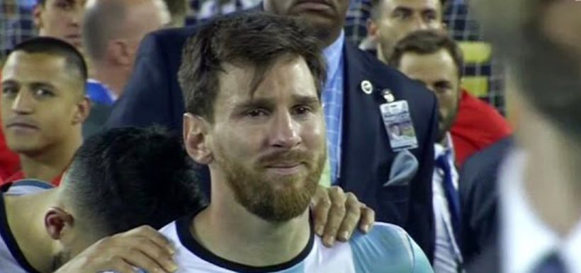 Lionel Messi, renuncia, Selección Argentina