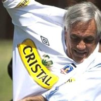 Lienzo, Arengazo, Garra Blanca, Sebastián Piñera, Superclásico, Colo Colo, Universidad de Chile, Estadio Monumental
