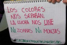 [FOTOS] La campaña contra el machismo que unió a los hinchas de Católica y Colo Colo