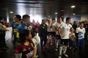 Patricio Rubio, cuatro goles, Colo Colo, Everton, Esteban Paredes