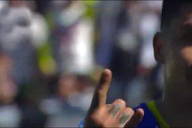 Patricio Rubio, Pato Rubio, Colo Colo, cuatro goles, Azul Azul