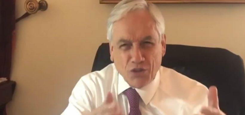 Sebastián Piñera, presidente, Oposición, antipatriotas