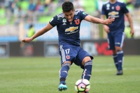 """¡Sigue en la pelea! Rafael Caroca aclaró su futuro en la """"U"""" y así reaccionaron los hinchas"""